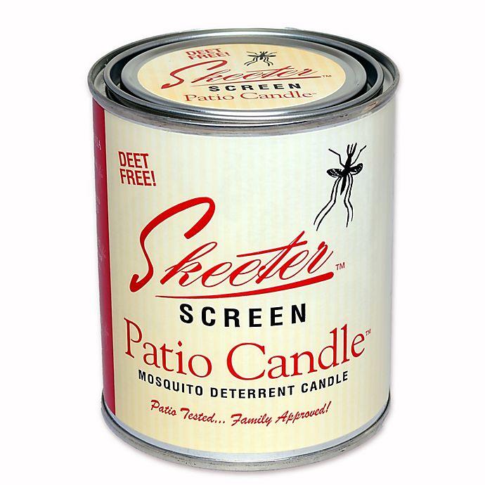 Skeeter Screen 15 Oz Patio Candle Bed Bath Beyond