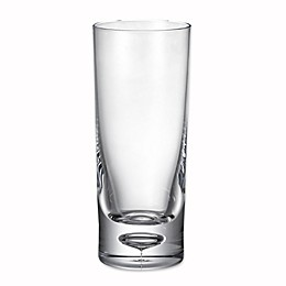 Bubble Bottom Highball Glass in Clear
