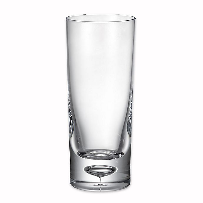 Alternate image 1 for Bubble Bottom Highball Glass in Clear