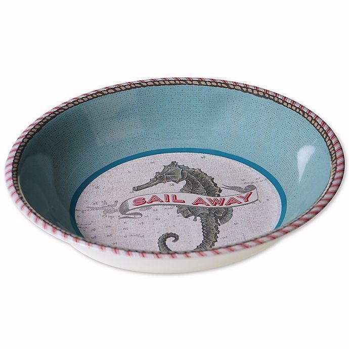 Alternate image 1 for Drift Away Melamine Serving Bowl