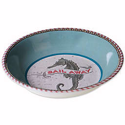 Drift Away Melamine Serving Bowl