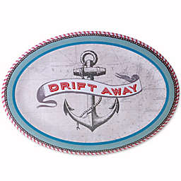 Drift Away Melamine Oval Serving Platter