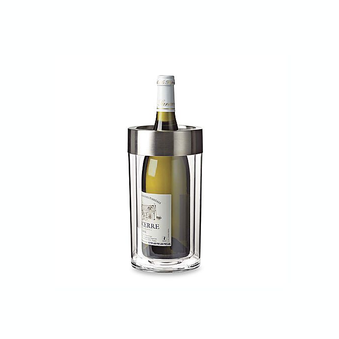Alternate image 1 for Wine Enthusiast Double Walled Iceless Wine Bottle Chiller