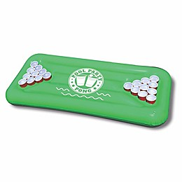 Inflatable Pool Pong Float in Green