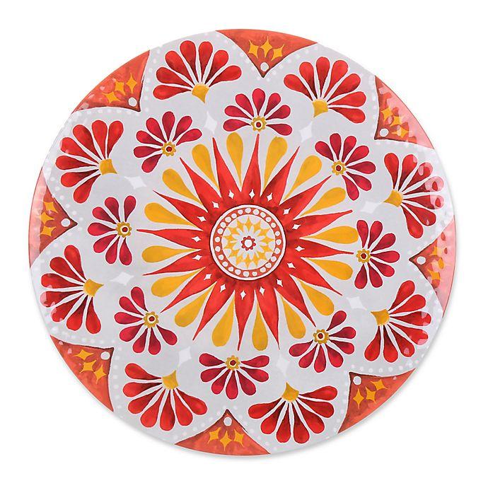 Alternate image 1 for Gypsy Grapefruit Melamine Textured Salad Plate