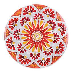 Gypsy Grapefruit Melamine Textured Salad Plate