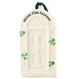 Belleek Classic Shamrock House Blessing Ornament
