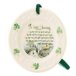 Belleek Classic Irish Blessing Ornament