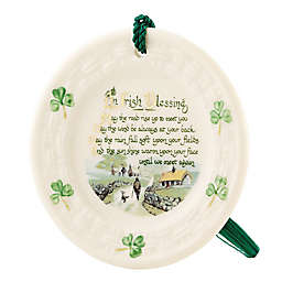 Belleek Classic Irish Blessing Ornament