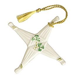 Belleek Classic St. Brigid's Cross Ornament
