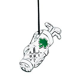 Galway Crystal Classic Golf Bag Ornament