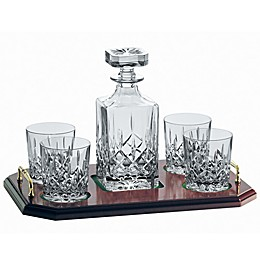 Galway Crystal Longford 6-Piece Decanter Set