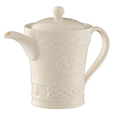 Belleek Claddagh Beverage Pot