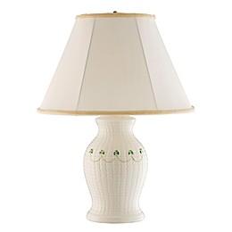 Belleek Shamrock Braid Table Lamp