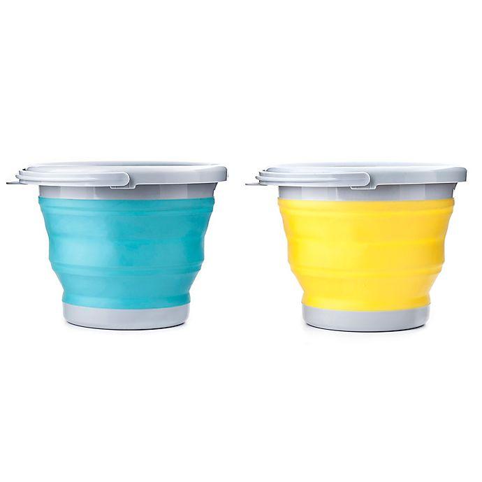 Alternate image 1 for Kikkerland® 5-Liter Collapsible Bucket