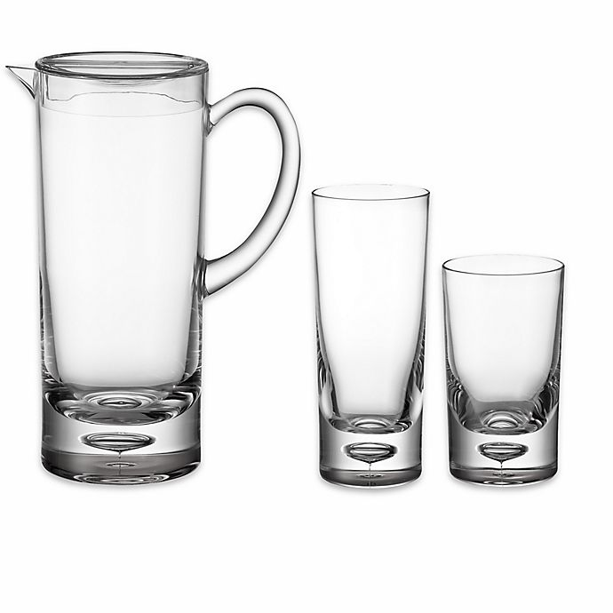 Alternate image 1 for Bubble Bottom Drinkware Collection in Clear