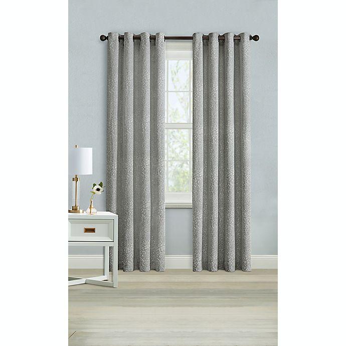 Alternate image 1 for Wamsutta® Montville 63-Inch Grommet Light Filtering Curtain Panel in Eiffel Tower (Single)