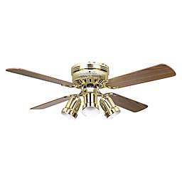 Concord 42-Inch Bullet Light Indoor Hugger Ceiling Fan