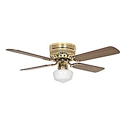 Concord 42-Inch Schoolhouse Light Indoor Hugger Ceiling Fan