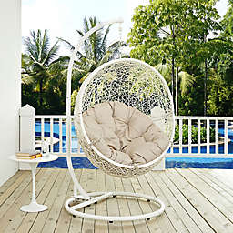 Modway Hide Patio Stand-Alone Swing Hammock Chair