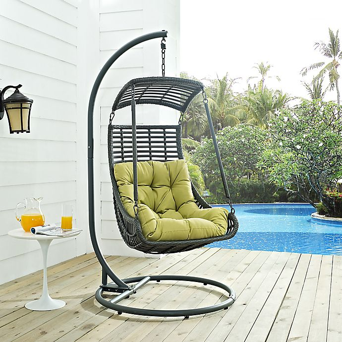 Modway Jungle Patio Stand Alone Swing Chair Bed Bath Beyond