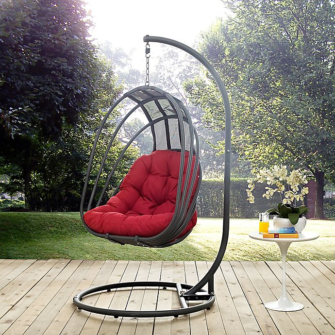 Alternate image 1 for Modway Whisk Patio Stand-Alone Swing Chair