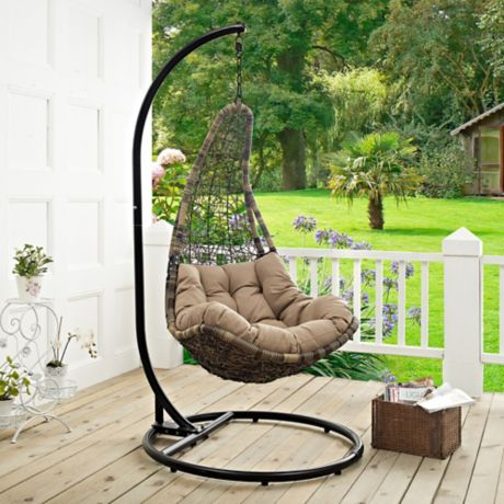 Modway Abate Patio Stand Alone Swing Chair Bed Bath Amp Beyond