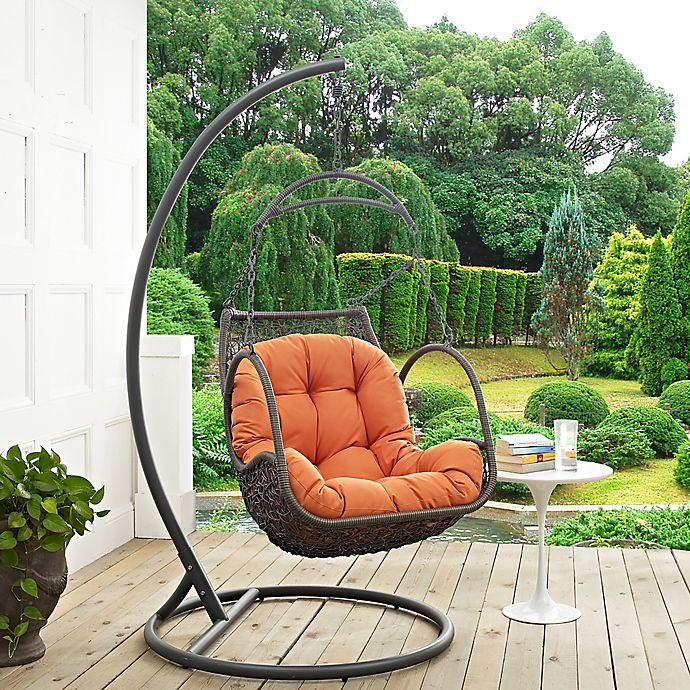 Modway Arbor Patio Stand-Alone Swing Chair | Bed Bath & Beyond