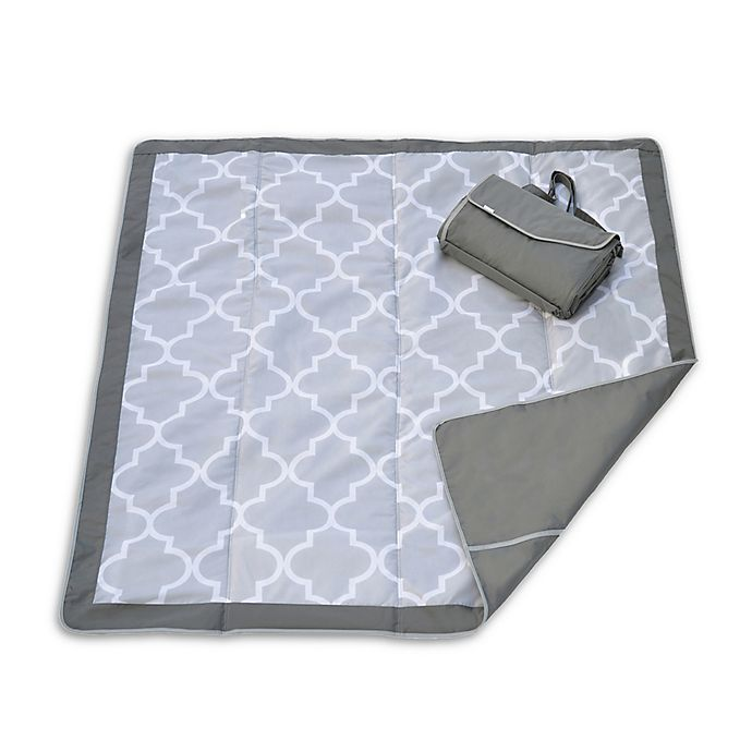 Alternate image 1 for JJ Cole® Extra Large Outdoor Mat in Grey
