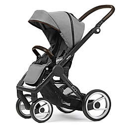 Mutsy Evo Stroller in Black/Farmer Mist