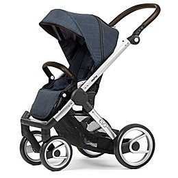 Mutsy Evo Stroller in Silver/Farmer Shadow