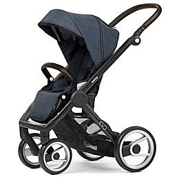 Mutsy Evo Stroller in Black/Farmer Shadow