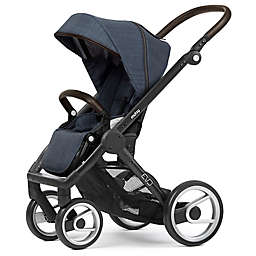 Mutsy Evo Stroller in Black/Farmer Shadow