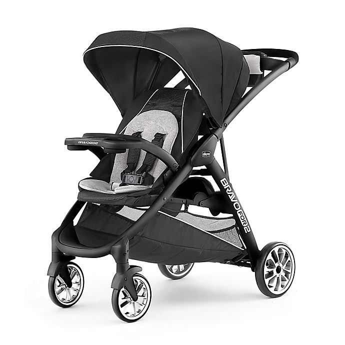 Alternate image 1 for Chicco® BravoFor2™ Double Stroller in Genesis