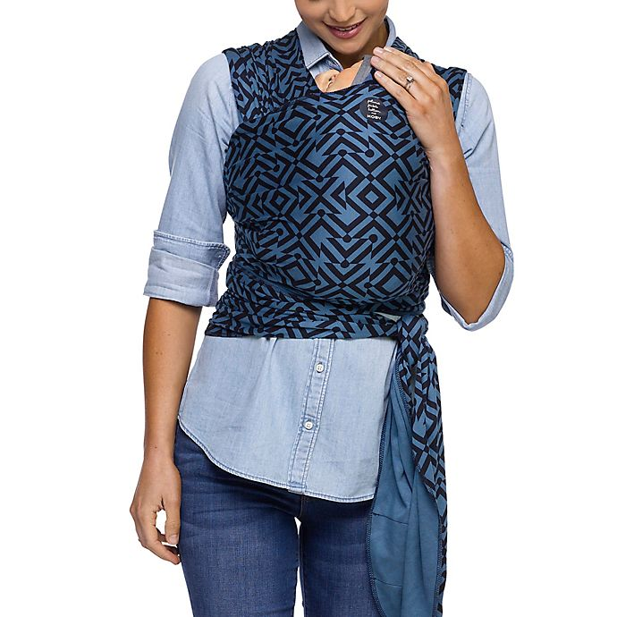 d87daf4a70c Petunia Pickle Bottom® for Moby® Wrap Mazes of Milano Baby Carrier in Indigo