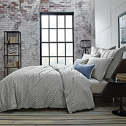 Kenneth Cole New York Escape Reversible Duvet Cover in Blue