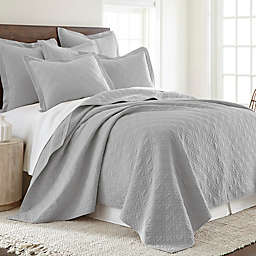 Levtex Home Sasha Twin Quilt in Grey