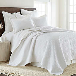 Levtex Home Sasha Twin Quilt in White