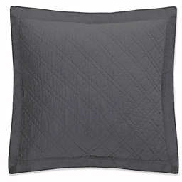 Levtex Home Sasha European Pillow Sham in Charcoal