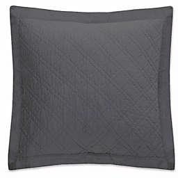 Levtex Home Sasha European Pillow Sham in Charcoal