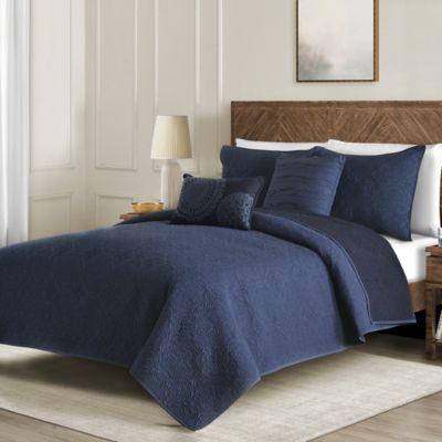 Washed Reversible Quilt Set Bed Bath Amp Beyond