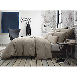 Kenneth Cole New York Escape Pinstriped Reversible Duvet Cover