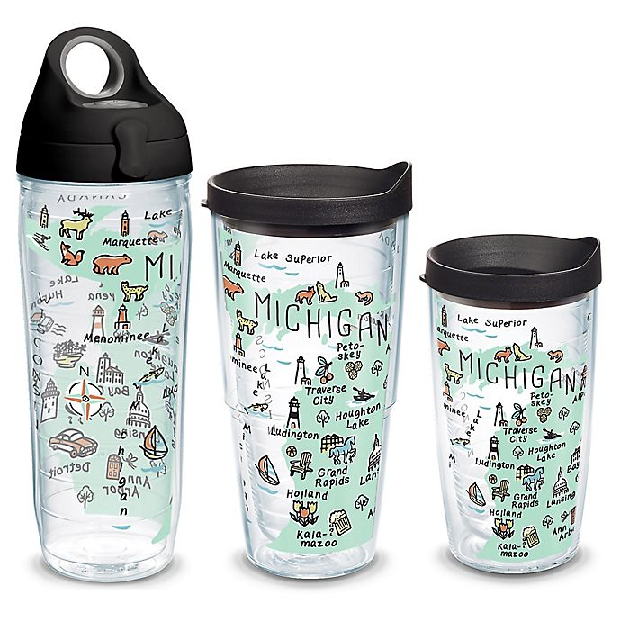 Alternate image 1 for Tervis® My Place Michigan Wrap Drinkware