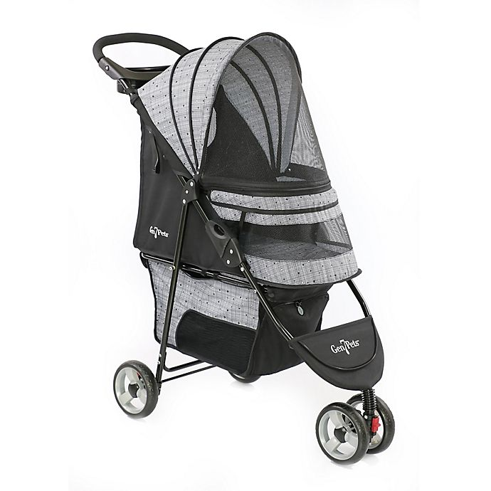 Alternate image 1 for Gen7Pets™ Regal™ Plus Pet Stroller in Grey