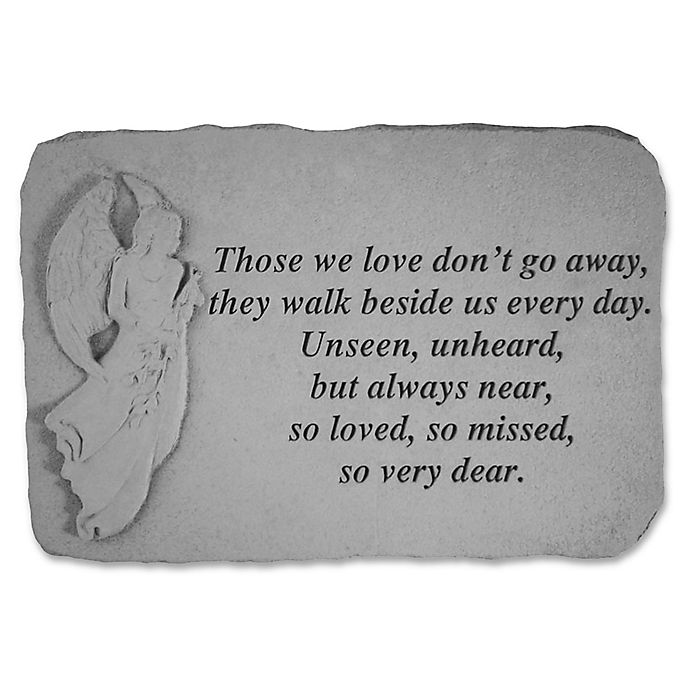 Alternate image 1 for Those We Have Held Memorial Stone in Grey