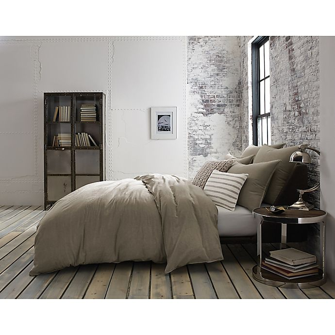 Kenneth Cole Mineral Yarn Dyed Duvet Cover Bed Bath And