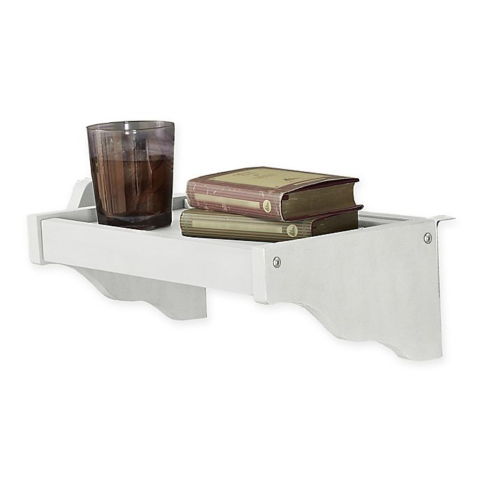 Alternate image 1 for Hillsdale Furniture Lake House Hanging Nightstand in White
