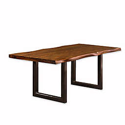Hillsdale Emerson Wood Rectangle Dining Table in Natural
