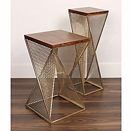 Kate And Laurel Elita Accent and End Table Collection