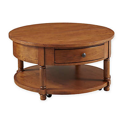 Broyhill Attic Heirlooms Lift Top Cocktail Table in Oak